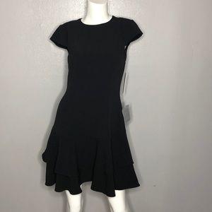 Eliza j black dress size 4